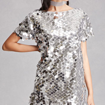Motel Sequined Mini Dress