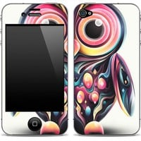 Abstract Owl iPhone Skin