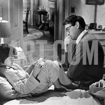 To Kill A Mockingbird, Mary Badham, Gregory Peck, 1962 Premium Poster at Art.com