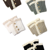 Boot Cuffs - Multiple Colors