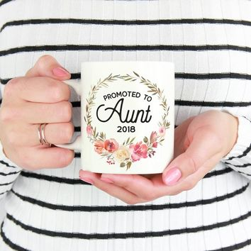 New Aunt Mug, Aunt to Be, Pregnancy Announcement, Gifts for Aunts, Custom Aunt Mug, Pregnancy Reveal, Personalized Mugs, New Aunt, Willow