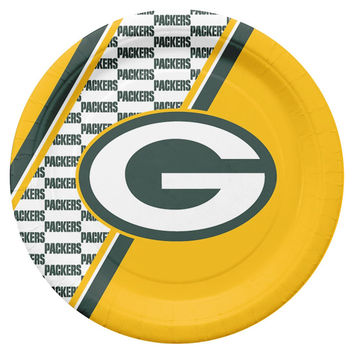 Green Bay Packers Disposable Paper Plates
