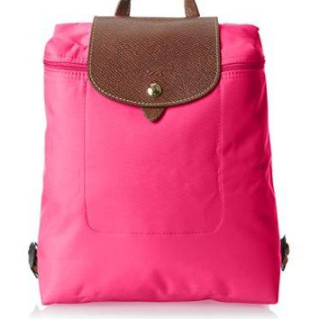 Longchamp Le Pliage Backpack, Cyclamen