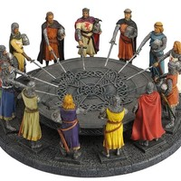 Knights of the Round Table Sculpture 11.5W, Assorted Colors