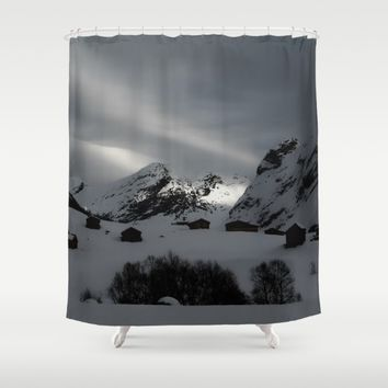 Coming Home Shower Curtain by Gallery One