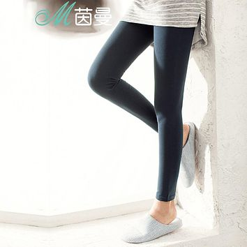 Show thin stretch tight pants  women wear thin trousers trousers pants of the four seasons