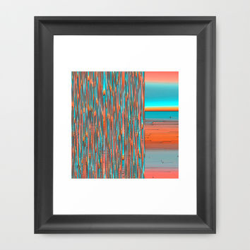 Interplay Of Warm And Cool Framed Art Print by Ben And Raisa Gertsberg