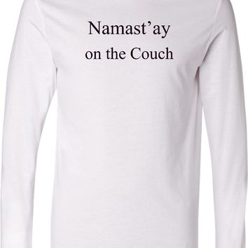 Yoga Lightweight Hoodie Namaste On The Couch