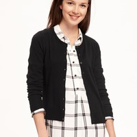 Classic Crew-Neck Cardi for Women old-navy