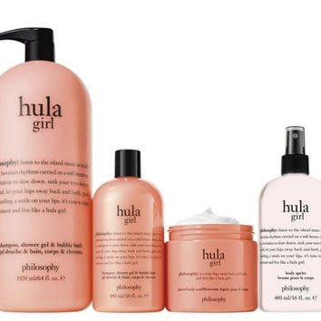 philosophy mega bubbles & body care 4-piece layering kit — QVC.com