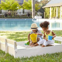 Sandbox and Cover | Pottery Barn Kids