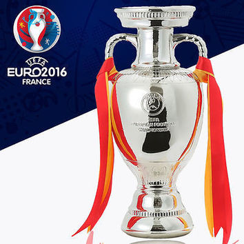 2016 France Euro Cup 45 CM Champions Resin Delaunay Trophy Model