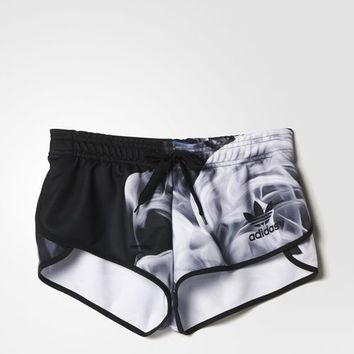 adidas White Smoke Shorts - Black | adidas US
