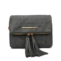 Summer Tassels Korean Messenger Bags Strong Character Stylish Casual Bags Shoulder Bags [4914820548]