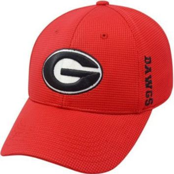 ONETOW NCAA Georgia Bulldogs Mens Booster Memory Fit Hat