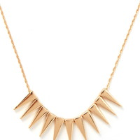 Spike Charm Necklace | Forever 21 - 1000171044