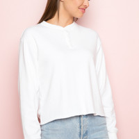 Allie Fleece Top - Long Sleeves - Tops - Clothing