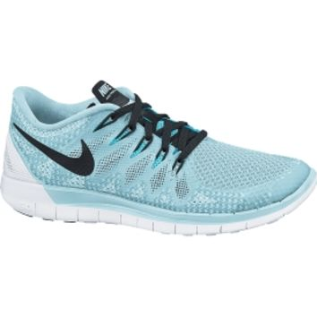 online retailer 5eb09 4083a Nike Women s Free 5.0 Running Shoe - Ice Cube Blue Clearwater   DICK S  Sporting Goods