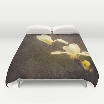 Dusty Duvet Cover by HappyMelvin