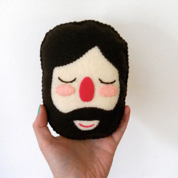 Felt Brown Haired Gentleman Plushie - Gordon