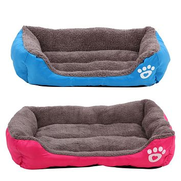 S L XL Size Fashion Pet Beds Claw Warm Kennel Cat House Comfortable Paw Mat High Quality Large Dog Bed Cama Para Cachorro
