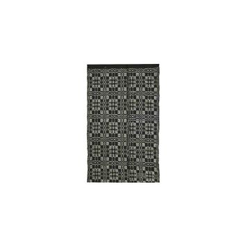 Homespice Decor Thistle Black/Light Grey Indoor/Outdoor Area Rug