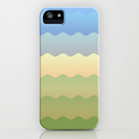 Waves 3 iPhone & iPod Case by Valerie Hoffmann