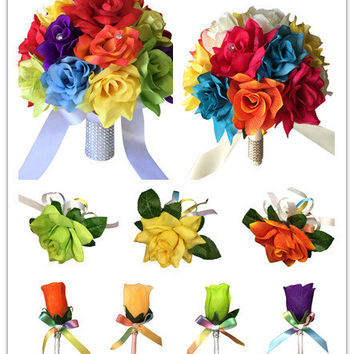 13pc set-Wedding package-rainbow wedding theme