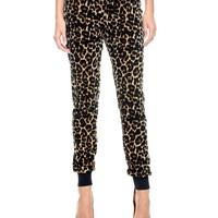 Leopard Modern Slim Pant by Juicy Couture