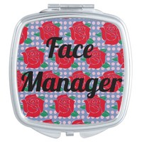 """Face Manager"" Compact Mirror"