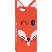 MAISON KITSUNE 3D Fox Phone Case – fits iPhone 6, 7, and Samsung 7