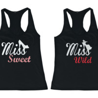 Miss Sweet and Wild Tank Tops