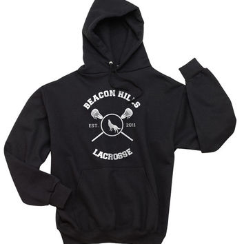 Beacon Hills Lacrosse Teen Wolf BLACK Unisex Hoodie S to 3XL Scot McCall