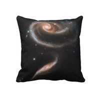Rose of Galaxies Pillow from Zazzle.com