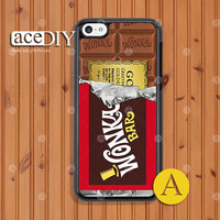 WILLY WONKA Golden Ticket iPhone 5c case, Phone cases, iPhone 5c case, Case For iPhone, Skins, Cover Skin --C50711