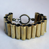 32 Magnum Bullet Bracelet Unisex//Bullet Jewelry//Mens//Rocker Jewelry//Valentine's Day Gift Boyfriend Father Husband Brother