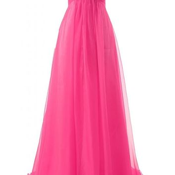 JAEDEN Girl's Sweetheart Charming Formal Evening Dresses Long Prom Gown