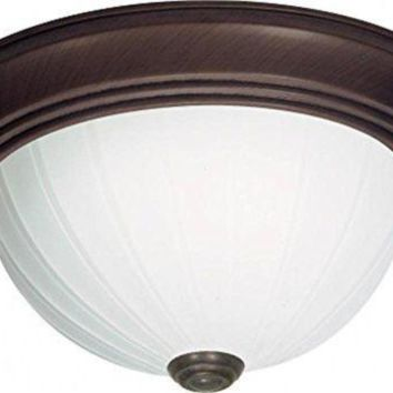 """Nuvo 76-247 - 13"""" Close-To-Ceiling Flush Mount Ceiling Light"""