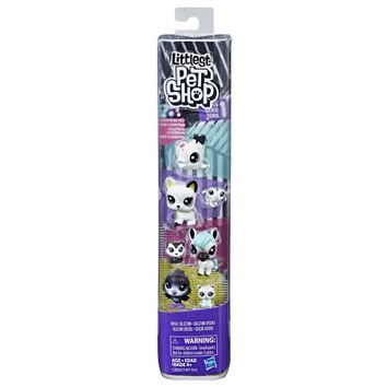 Littlest Pet Shop Black & White Friends - Walmart.com