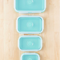 Silicone Collapsible Food Container Set | Urban Outfitters