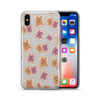 PB and J (@milkywaycases x @okitssteph) - Clear Case Cover Phone Case