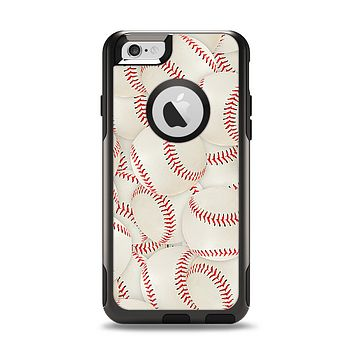 The Baseball Overlay Apple iPhone 6 Otterbox Commuter Case Skin Set