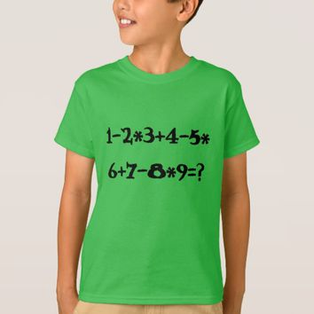 Green Math calculation T-Shirt