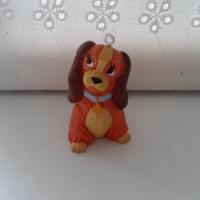 Disney Lady and the Tramp Lady charm pendant, ornament figures figure