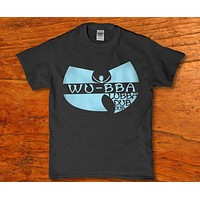 Wu tang wu bba lubba dub dub rick and morty parody Men's t-shirt