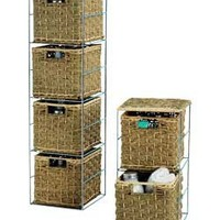 Buy 2 Piece Checkweave Seagrass Storage Set. at Argos.ie- Your Online Shop for .