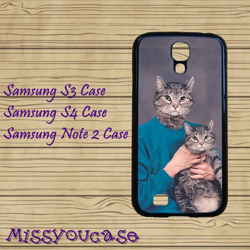 Samsung galaxy S3,Samsung galaxy S4,Samsung Galaxy Note2 Case,cute Samsung S3 Case,cute Samsung S4 Case,cute cat,cool Samsung S4 case.