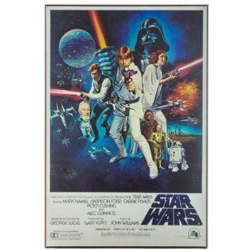 Star Wars MDF Movie Poster | Shop Hobby Lobby