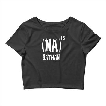 '(na) 16 batman' funny mens funny movie Crop Top