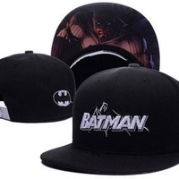 Trendy Winter Jacket Batman The Dark Knight Baseball Hat Unisex  Causal Hip Hop Adjustable Canvas Snapback Caps Men Women Accessories Justice League AT_92_12